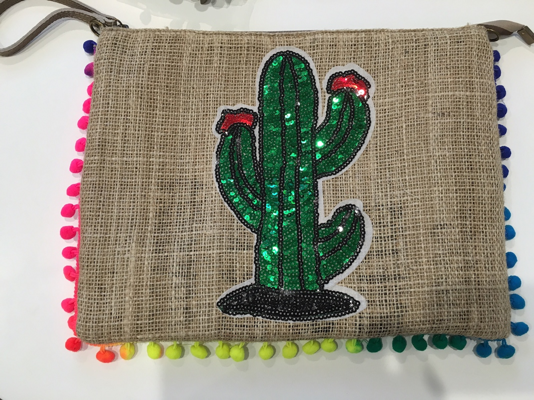 Recycled Hessian Coffee Bag - Cactus