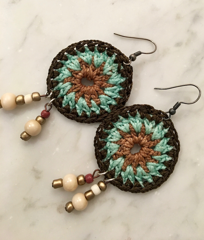 Spanish Crochet Spirit Earring