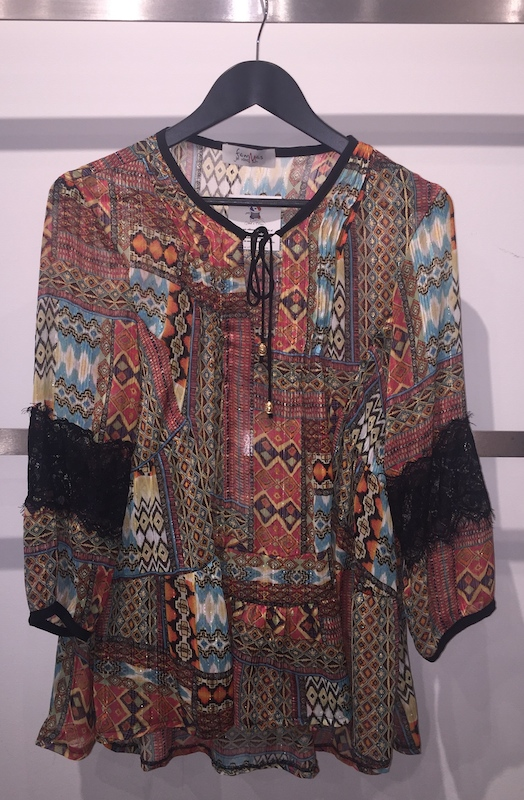 Parisian Gypsy Top