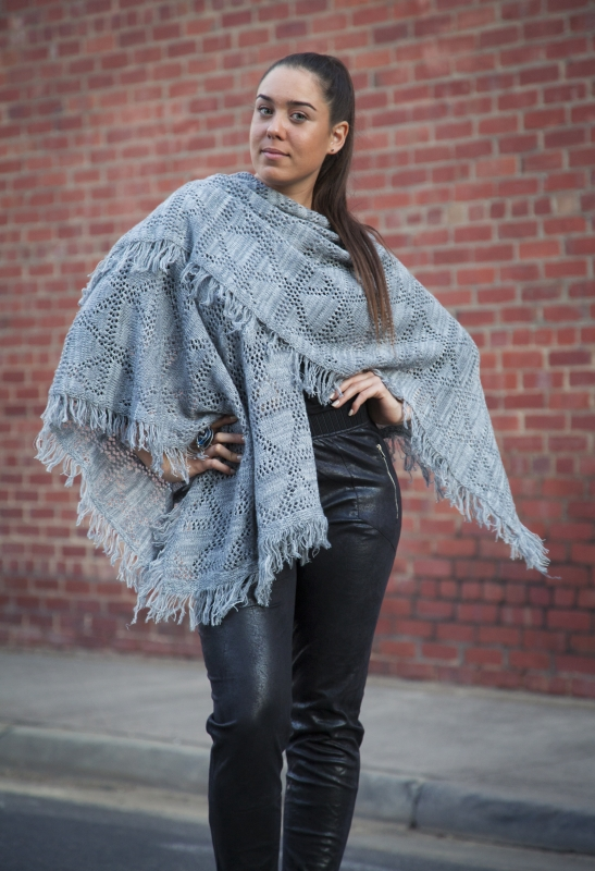 Soft Wrap With Fringing