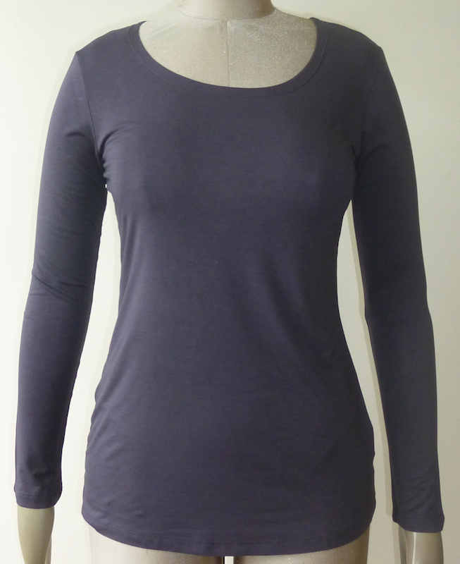 Long Sleeve Scoop Neck T